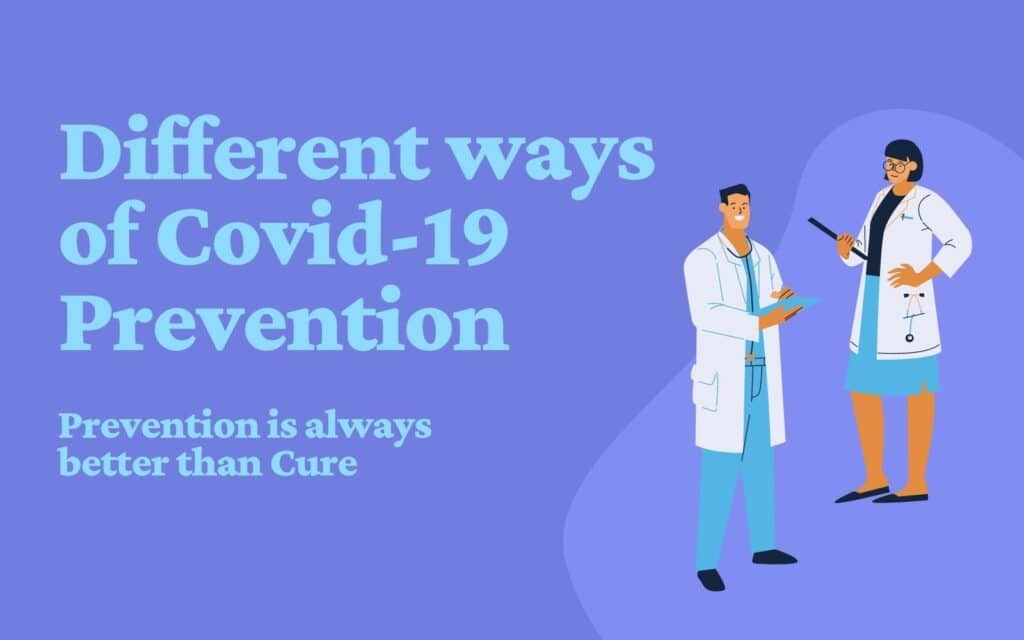 Prevention is always better than Cure